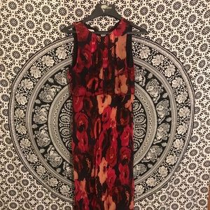 Pure Silk Talbots Maxi Dress